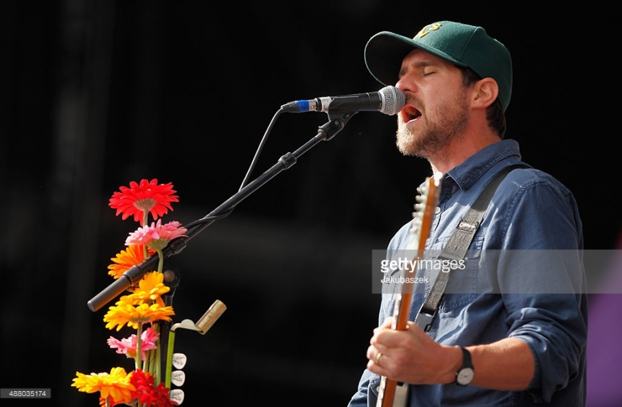<> live on stage during the second day of the Lollapalooza Berlin music festival at Tempelhof Airport on September 13, 2015 in Berlin, Germany.